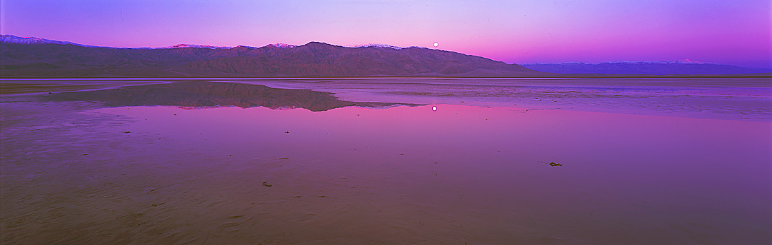 Panoramic Landscape Photography ~ Purple Haze, Death Valley