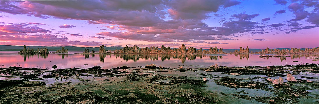 Reflections at South Tufas, Mono Lake, Eastern Sierra